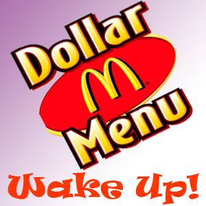 dollar menu at McDonalds