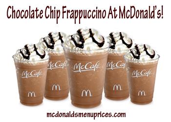 mcdonalds frappa